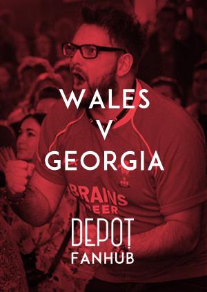 DEPOT FANHUB Presents: Autumn Internationals - Wales Vs Georgia