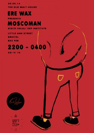 Ere Wax presents Moscoman