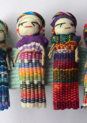 Super Hero Worry Dolls to the Rescue!