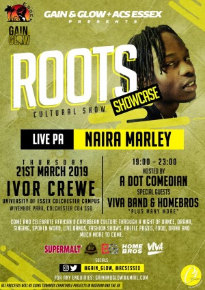 Roots Showcase - LIVE PA from Naira Marley