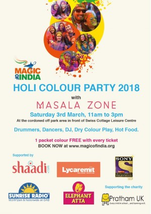 Holi Colour Party 2018