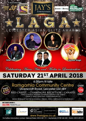 Leicester Asian Glitz Awards 2018' bought to you by Jay's Entertainment