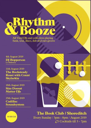 Rhythm & Booze w/ Size Doesn't Matter - All Vinyl Sunday Sessions!