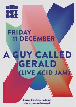 Memory Box presents: A Guy Called Gerald (Live Acid Jam)