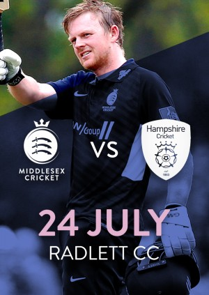 Middlesex v Hampshire - Royal London Cup
