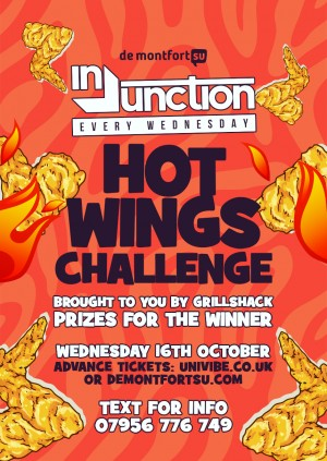 Injunction Hot Wings Challenge