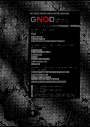 GNOD Weekender