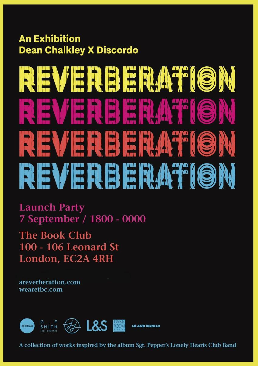 'Reverberation' exhibition launch