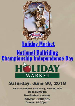 National Bullriding Championship Independence Day