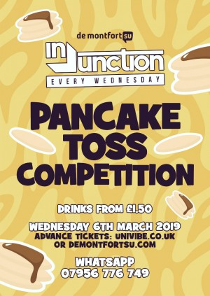 Injunction Pancake Toss Competition