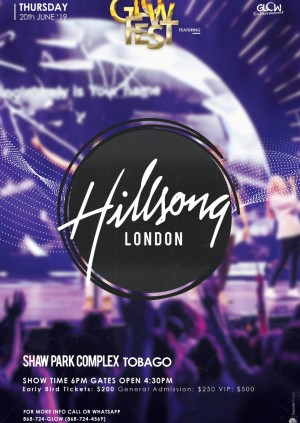 GLOWfest 2019 - Hillsong London (TT$ Tickets)