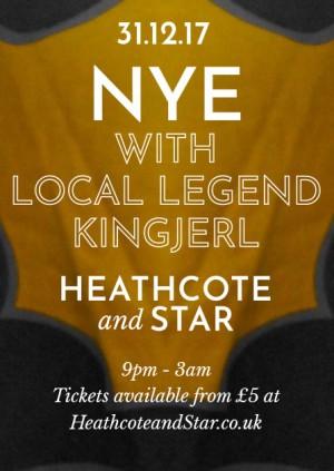 NYE at Heathcote and Star