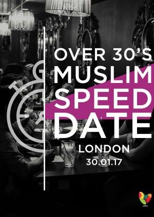 Over 30's Muslim Speed Date