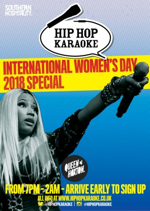 Hip Hop Karaoke - International Women's Day Special!