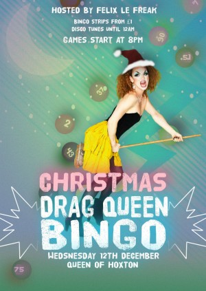 CHRISTMAS Drag Bingo