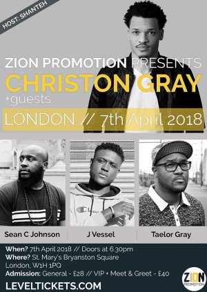 Christon Gray + Guests