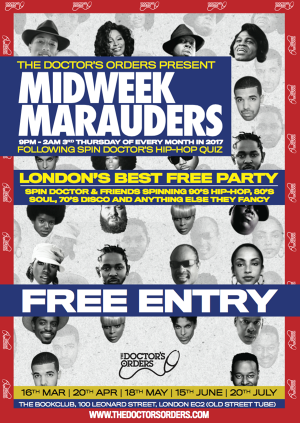Midweek Marauders Party