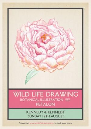Wild Life Drawing: Botanical Illustration x Petalon