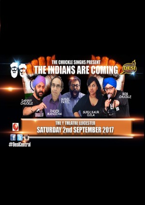The Indians Are Coming - Leicester Show