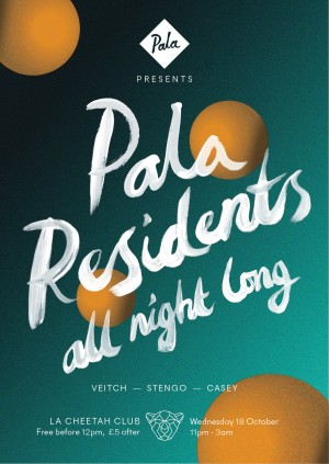 Pala Presents: Residents all night long