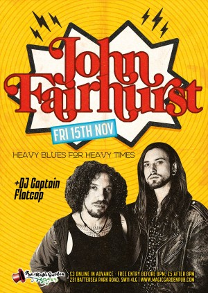 John Fairhurst + DJ Captain Flatcap