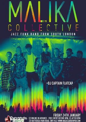 Malika Collective + DJ Captain Flatcap