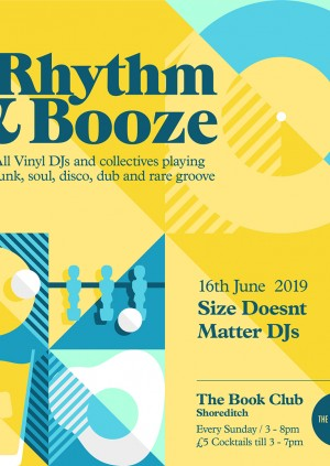 Rhythm & Booze  -Size Doesn't Matter -  All Vinyl Sunday Sessions!