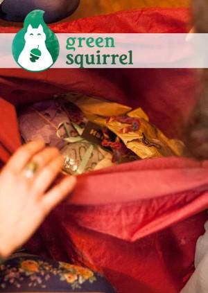 Secret Squirrel Santa