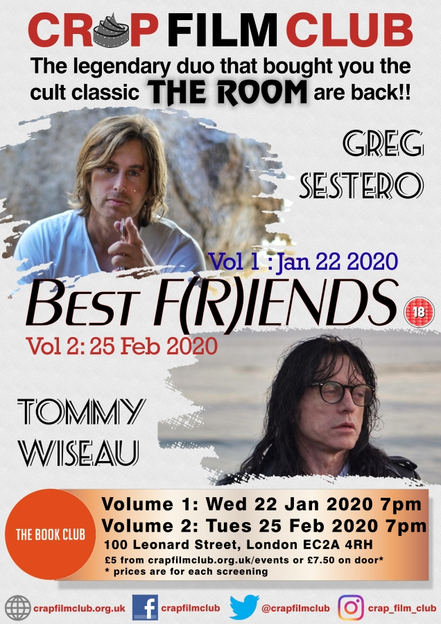 Crap Film Club presents