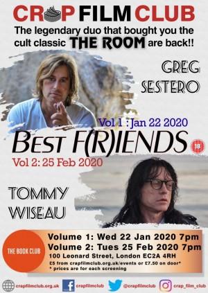 """Crap Film Club presents """"Best F(r)iends: Volume Two"""""""