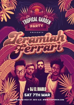 Tropical Garden Party Presents - Jeremiah Ferrari
