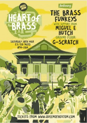 Heart of Brass w/ The Brass Funkeys (Live Brass Band)