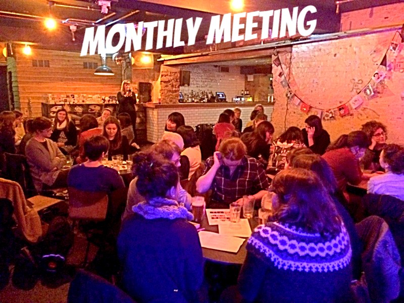 Shoreditch Sisters WI - An evening of jewellery making