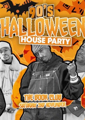 90s Halloween House Party
