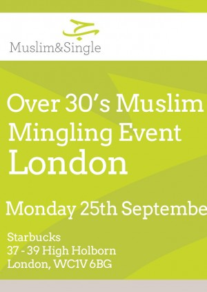 Over 30's Muslim Speed Date