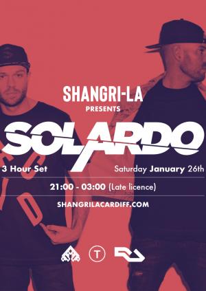 Shangri-La Presnets: Solardo (3 Hour Set)