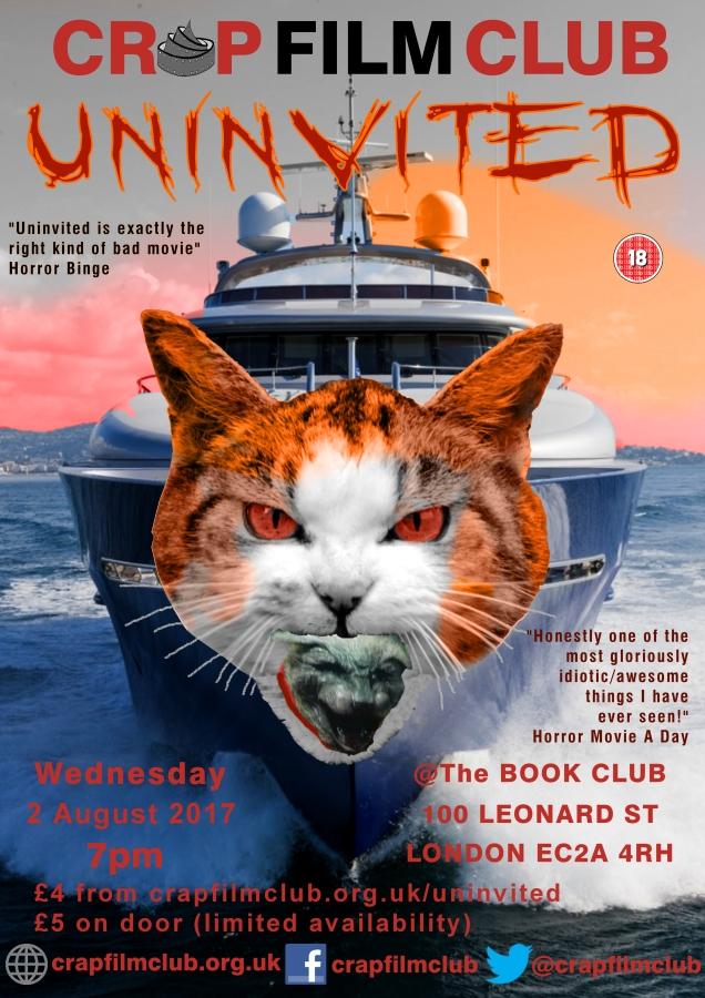 Crap Film Club presents UNINVITED