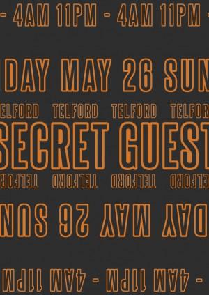 Sub Club Presents ~ Secret Guest & Telford ~ Bank Holiday Sunday May 26th