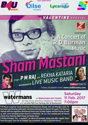 Sham Mastani Valentine