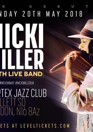 Micki Miller LIVE in the U.K