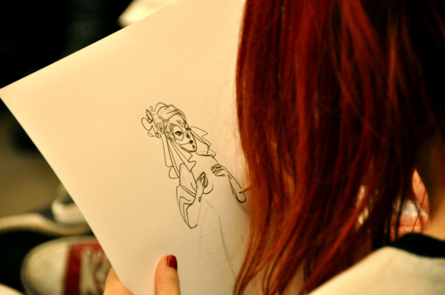 Art Macabre Death Drawing Salon