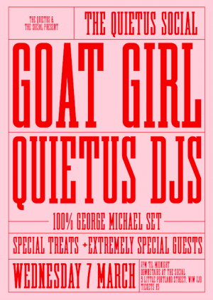 The Quietus Social with Goat Girl