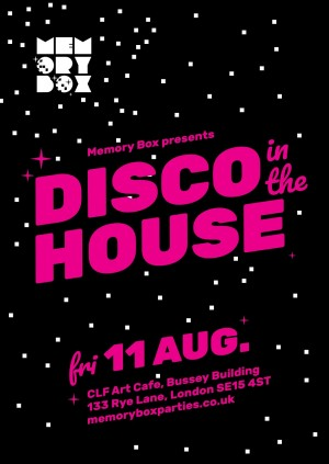 "Memory Box ""Disco In The House"""
