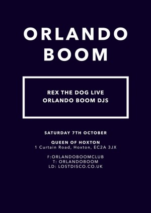 Orlando Boom w/ Rex the Dog live
