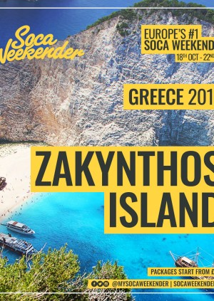 Soca Weekender Zakynthos Island - CONTACT +44 7946 634 747 FOR TICKETS