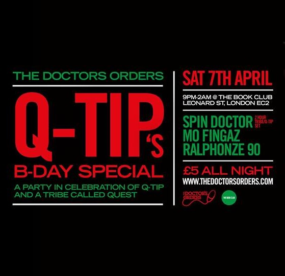 The Doctor's Orders: Q-Tip Birthday Special