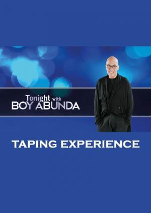 Tonight With Boy Abunda - NR - February 24, 2020 Mon