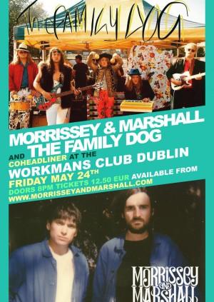 The Family Dog / Morrissey & Marshall - Dublin Show
