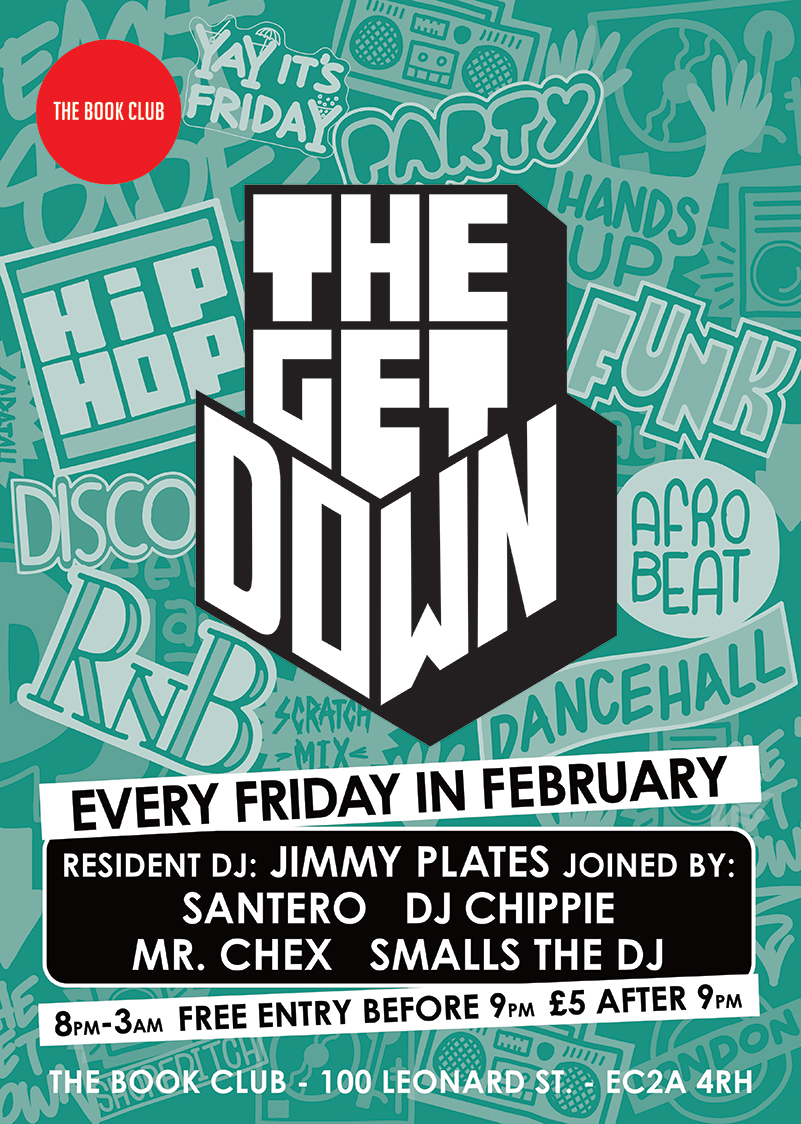 The Get Down with Jimmy Plates and Santero