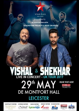 Vishal and Shekhar Live in Concert - Leicester